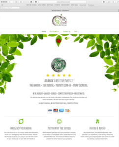 CR TREE SERVICE - EWINGWORKS WEBSITE DESIGN