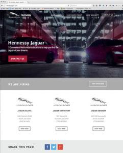 Automotive and car dealer websites develpopped by ewingworks.com and shockhog.com