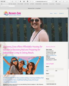 RecoveryZone.com-website
