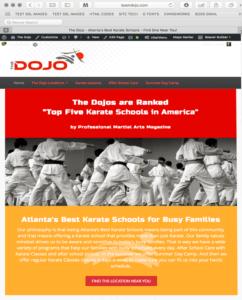 THE DOJO WEBSITE